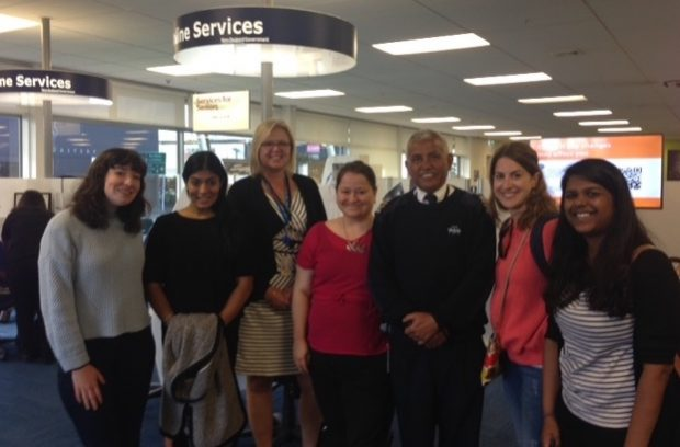 Civil servants visiting New Zealand on the D5 exchange trip