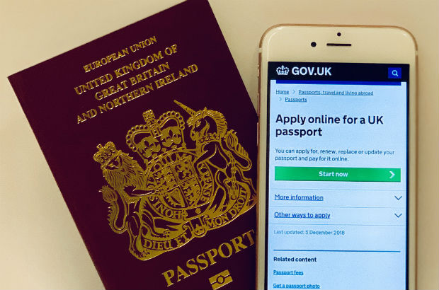 Applying for passport online uk photos